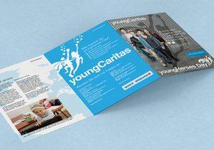 Caritas youngheroes Broschüre